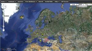 HARTA DEZASTRELOR PRODUSE IN TIMP REAL IN EUROPA