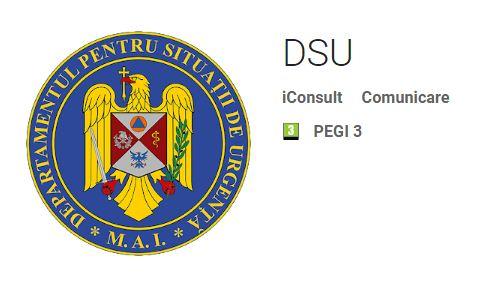 aplicatie mobila DSU