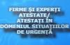 atestate/atestati in domeniul situatiilor de urgenta